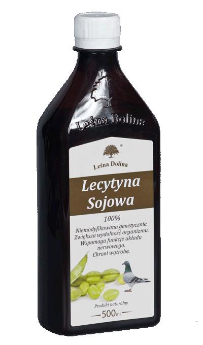 Sezon lotowy - Lecytyna sojowa 500ml LEŚNA DOLINA (1)