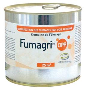 ŚRODKI PRZECIW SZKODNIKOM - FUMAGRI (= FUMAGRAR) 25m3 świeca dymna przeciwko drobnoustrojom, bakteriom i pleśniom. (1)