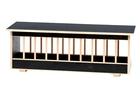 Wyposażenie i akcesoria do hodowli - Karmidło z deklem 60cm (dekiel) czarne (1)