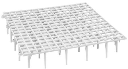 Wyposażenie i akcesoria do hodowli - Ruszt podłogowy wysoki 50x50x9 cm  (1)