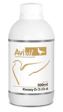 Preparaty odpornościowe - AviOil (kwasy Omega i lecytyna) 500ml (1)