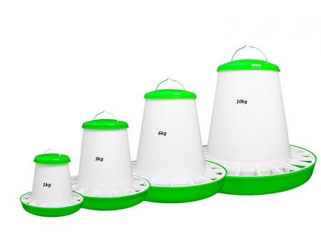 Akcesoria dla drobiu - Karmnik zasypowy 3kg (1)