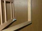 AKCESORIA Z DREWNA - Drzwiczki do celi gniazdowej w ramce (2)