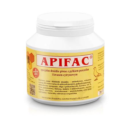 Witaminy - APIFAC (drożdże z pyłkiem i kw. cytrynowym) 250g (1)